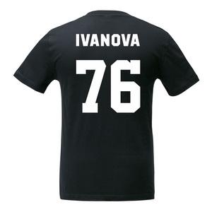 Футболка с фамилией и номером