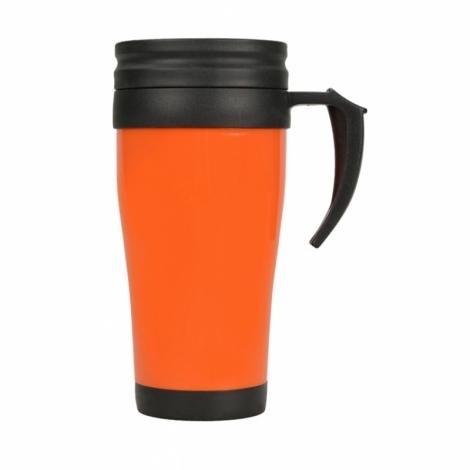 """Кружка с термоизоляцией """"Silence"""" 350мл, оранжевый"""