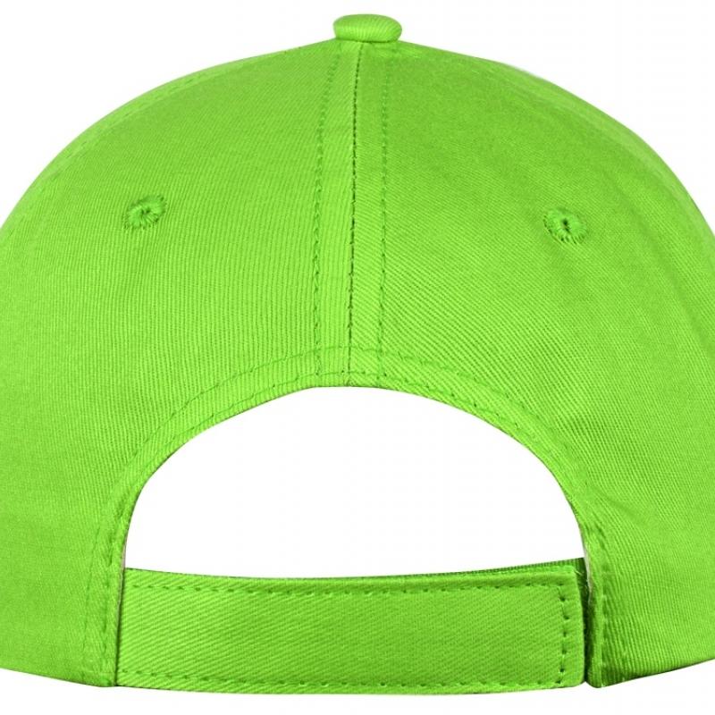 """Бейсболка """"Memphis"""" 5-ти панельная, зеленое яблоко"""