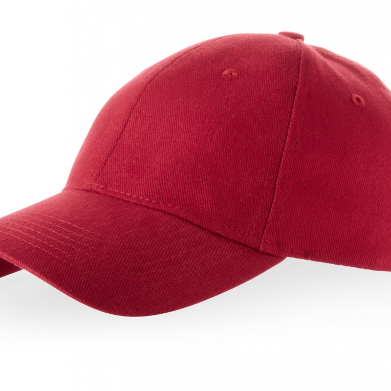 """Бейсболка """"Bryson"""", 6 панелей, красный"""