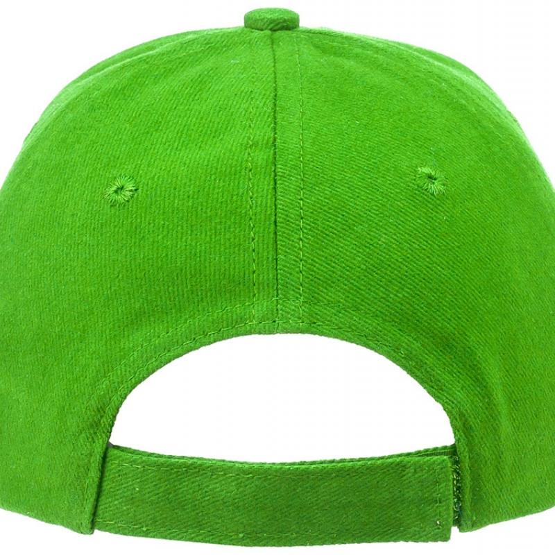 """Бейсболка """"Bryson"""", 6 панелей, зеленое яблоко"""