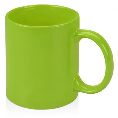 Кружка цветная 320мл, зеленое яблоко