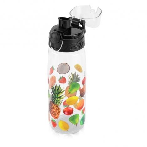 """Бутылка спортивная """"Capri"""" с UV нанесением, прозрачный"""