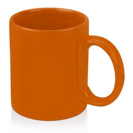 Кружка цветная 320мл, оранжевый