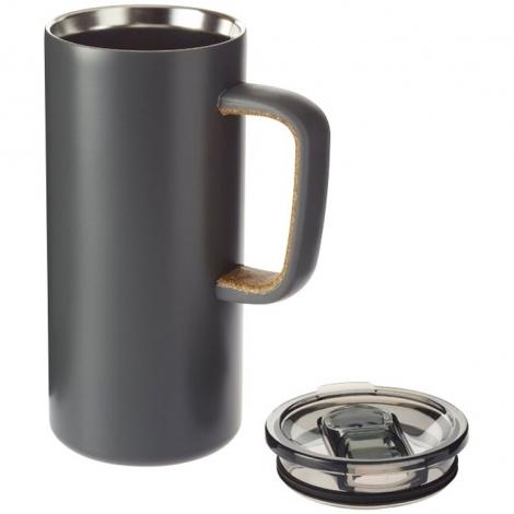 Вакуумная кружка Valhalla с медным покрытием, серый