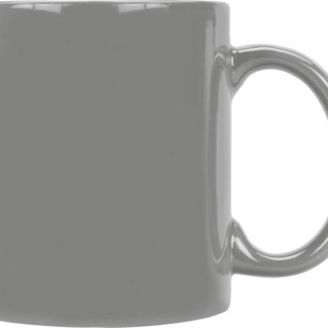Кружка цветная 320мл, серый