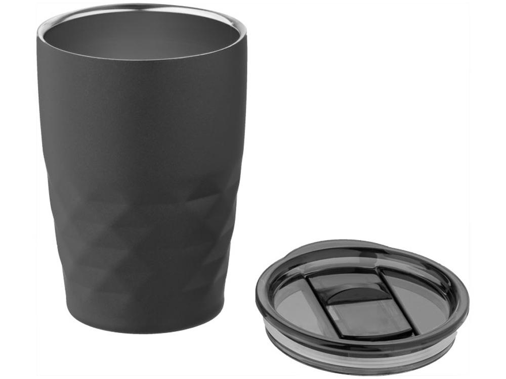 Кружка Geo с вакуумной изоляцией, черный