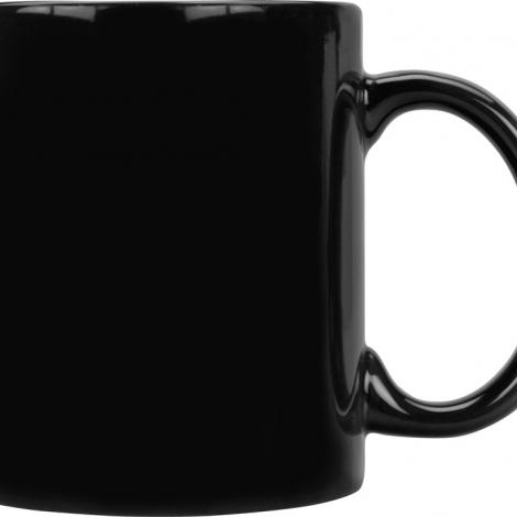 Кружка цветная 320мл, черный
