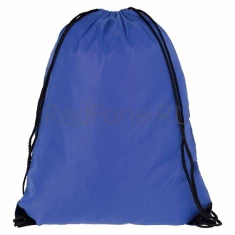 Новогодний рюкзачок для подарков, синий