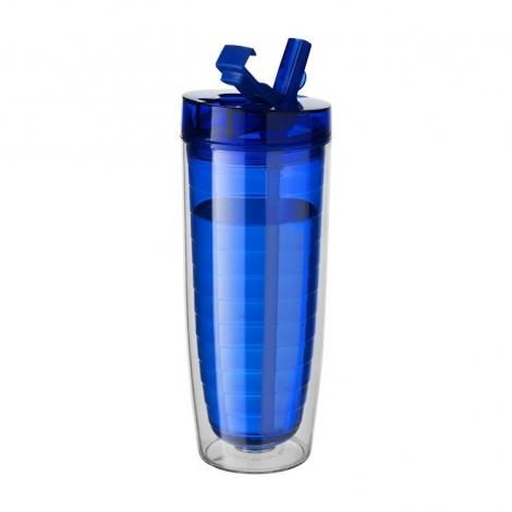 "Термостакан ""Sippe"", синий прозрачный"