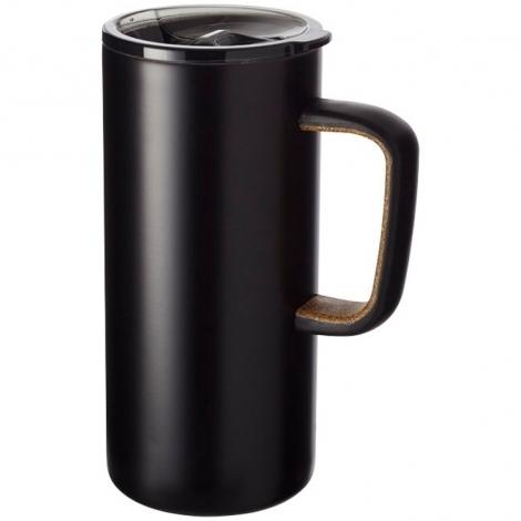 Вакуумная кружка Valhalla с медным покрытием, черный
