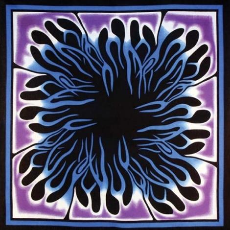 Бандана фиолетовая абстракция