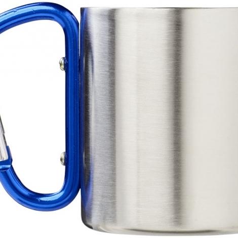 """Термокружка с ручкой-карабином """"Alps"""" 200мл, синий"""