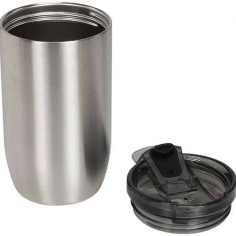 Герметичный термос Lagom 380 мл с медной вакуумной изоляцией, серебристый