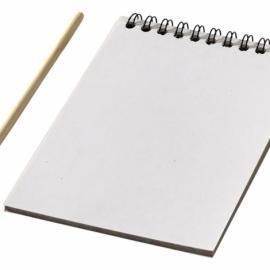 Цветной набор «Scratch»: блокнот, деревянная ручка