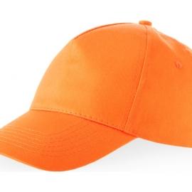 """Бейсболка """"Memphis"""" 5-ти панельная, оранжевый"""