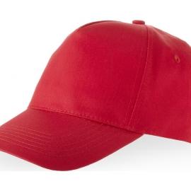 """Бейсболка """"Memphis"""" 5-ти панельная, красный"""