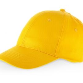 """Бейсболка """"Detroit"""" 6-ти панельная, желтый"""