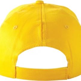 """Бейсболка """"Detroit C"""" 6-ти панельная, желтый"""