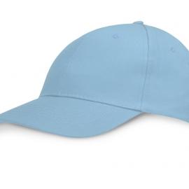 """Бейсболка """"Detroit C"""" 6-ти панельная, св. синий"""