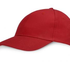 """Бейсболка """"Detroit"""" 6-ти панельная, красный"""