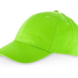 """Бейсболка """"Detroit C"""" 6-ти панельная, зеленое яблоко"""