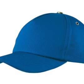 "Бейсболка ""New York C"" 5-ти панельная, кл. синий"