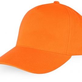 """Бейсболка """"Florida"""" 5-ти панельная, оранжевый"""