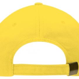 """Бейсболка """"Florida"""" 5-ти панельная, желтый"""