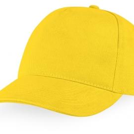 """Бейсболка """"Florida C"""" 5-ти панельная, желтый"""