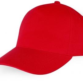 """Бейсболка """"Florida"""" 5-ти панельная, красный"""