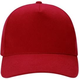 """Бейсболка """"Florida C"""" 5-ти панельная, красный"""