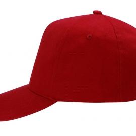 """Бейсболка """"Florida F"""" 5-ти панельная, красный"""