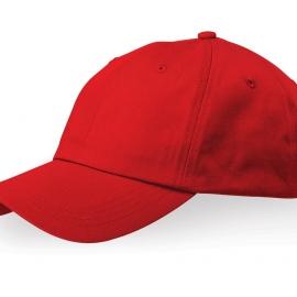 """Бейсболка """"Apex"""" 6-ти панельная, красный"""