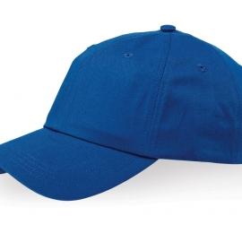 """Бейсболка """"Apex"""" 6-ти панельная, классический синий"""