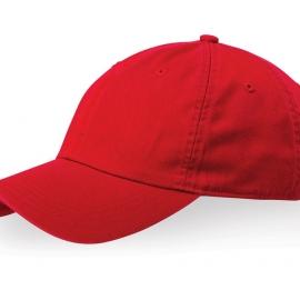 """Бейсболка """"Verve"""" 6-ти панельная, красный"""