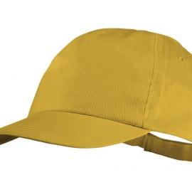 "Бейсболка ""Basic"", 5-ти панельная, желтый"