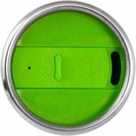 Термостакан Elwood c изоляцией, серебристый/лайм