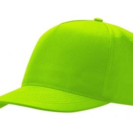 """Бейсболка """"Poly"""" 5-ти панельная, зеленое яблоко"""