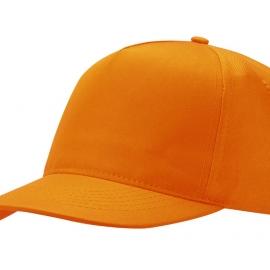 """Бейсболка """"Mix"""" 5-ти панельная, оранжевый"""