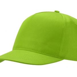 """Бейсболка """"Mix"""" 5-ти панельная, зеленое яблоко"""