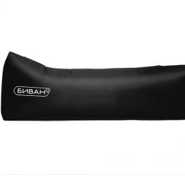 Надувной диван «Биван Promo», черный