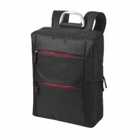 """Рюкзак """"Boston"""" для ноутбука 15,6"""", черный/красный"""