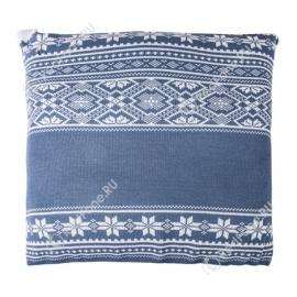 Новогодняя подушка, синия