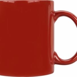 Кружка цветная 320мл, красный