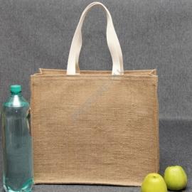Джутовая сумка 41*35*15 см