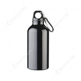 Бутылка для питья, 400 мл, черная