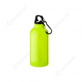 Бутылка для питья, 400 мл, неоново-желтая