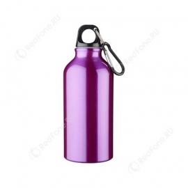 Бутылка для питья, 400 мл, пурпурная
