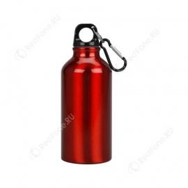 Бутылка для питья, 400 мл, красная